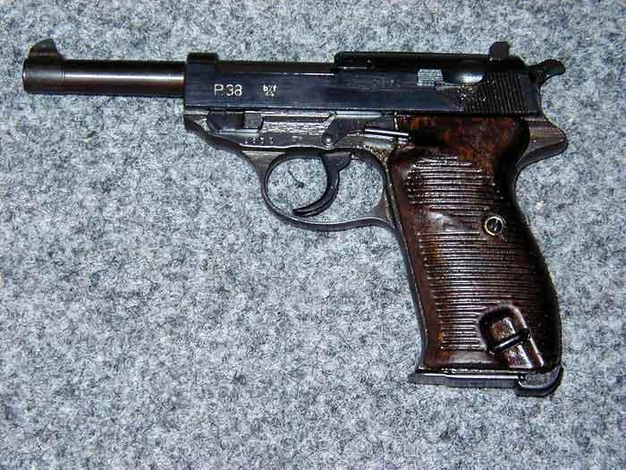 Walther P 38 Pistola   Enciclopedia Militar El Gran Capit  N